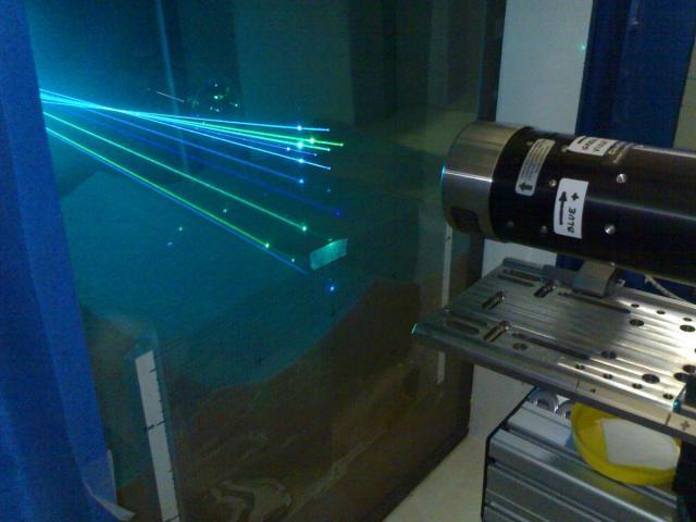 3-D Laser Doppler Velocimetry (LDV) System – Ven Te Chow Hydrosystems Lab